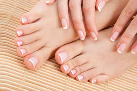 Pure Essentials - £13 for a luxury manicure and pedicure - Save 78%