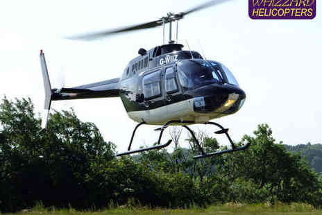 Whizzard Helicopters - Ten Mile Helicopter Flight for One  - Save 49%