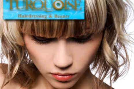 Turquoise - Luxury Hair Package in top Soho salon - Save 76%