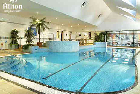 Hilton East Midlands Airport - Hilton Hotel Spa Day Pass with Sparkling Afternoon Tea for Two - Save 51%