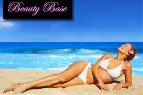 Beauty Base and Amia - 6 Laser Hair Removal Sessions on 2 Medium or 3 Small areas - Save 89%