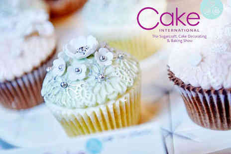 ExCeL London - Ticket to Cake International - Save 50%