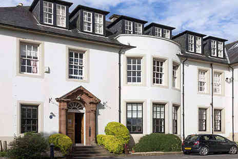 Hetland Hall Hotel - One Night Scottish Country Estate Stay for Two with Two Course Dinner on First Night and Daily Breakfast - Save 41%