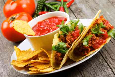 Viva La Mexicana - Mexican street food meal and a cocktail each for two - Save 0%
