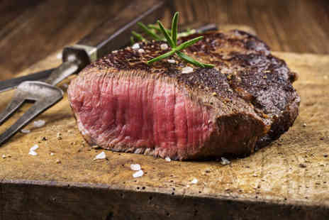 Truc Vert -  Chateaubriand steak meal for Two including a glass of wine each  - Save 0%