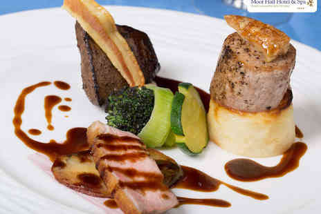 The Oak Room Restaurant - Starter, Main Course, and Dessert for Two  - Save 49%