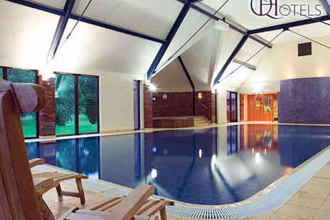 Aldwark Manor Golf & Spa Hotel - Spa Experience with Drink and Pastry Each for Two - Save 80%