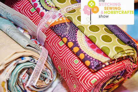 ExCeL London - Ticket to Stitching, Sewing & Hobbycrafts  Show London on March 27, 28 , 29 - Save 50%