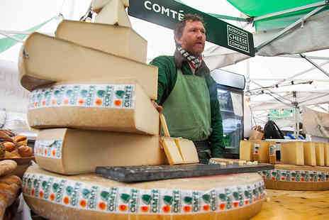 Events 55 - Two Tickets to The Cheese & Wine Festival - Save 33%