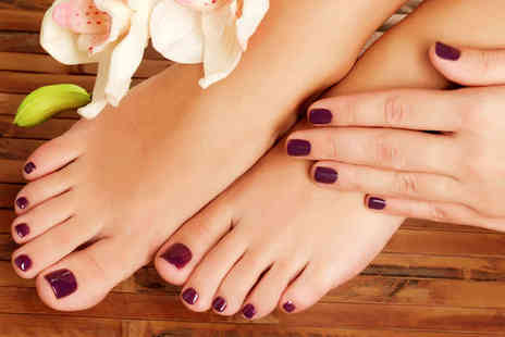 Brasil Hair - Gel Manicure or Pedicure, or Haircut and Blow Dry - Save 0%