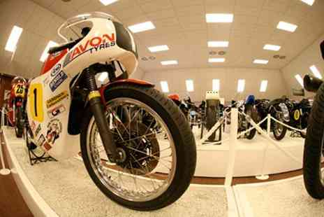 National Motorcycle Museum - Two adult tickets   - Save 50%
