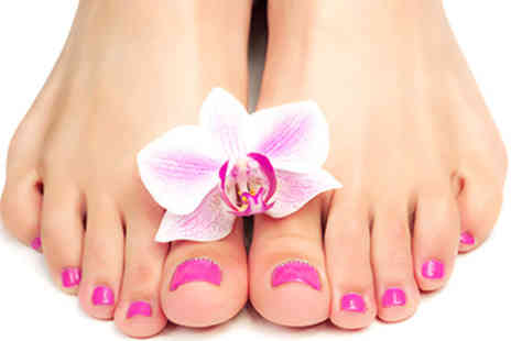 Beauty Box - Shellac Pedicure or Shellac Mani & Pedi - Save 54%