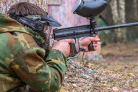 Britannia Paintball - Paintballing Day For Up To 20 People with 100 Paintballs - Save 88%