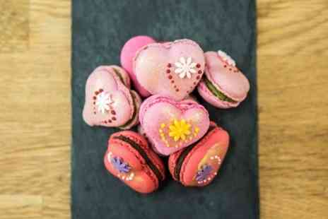On Cookery Club - Mothers Day Box of Heart Macarons - Save 0%