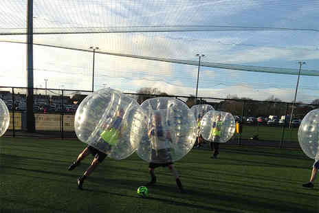 North West Bubble Football - Bubble football experience for up to 15 people  - Save 45%