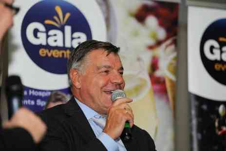 Gala Events - One Ticket For An Afternoon With Sam Allardyce and Malky Mackay with Three Course Meal  - Save 42%
