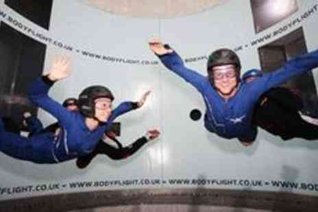 Bodyflight Bedford - Indoor skydiving experience with two flights - Save 33%