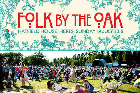 JSL Productions - Tickets for Folk By The Oak in Hatfield House for an Adult  - Save 0%