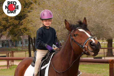 Croft Riding Centre - Kid's Horse Riding Lesson or Two Adults Horse Riding Lessons - Save 54%