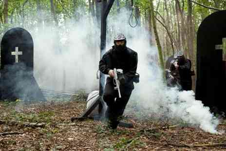 Britannia Paintball - Paintball With Light Lunch and 100 Balls  - Save 88%