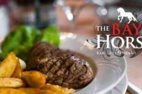 The Bay Horse - Three Courses of British Fare With Drink For Two - Save 61%