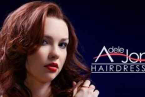 Adele Jones Hairdressing - Restyle Cut and Schwarzkopf Seah Treatment With Partial Highlights or Lowlights - Save 72%