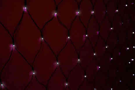 Saproducts - Solar Powered LED Light Net - Save 60%