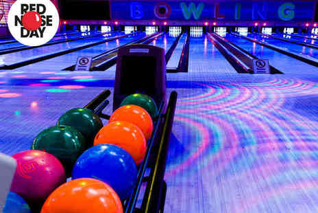MFA Bowl  - Hour Long Group Bowling Session with Hot Dogs - Save 70%