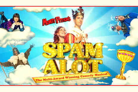 Eight UK Locations - Band A Ticket to Critically Acclaimed Spamalot  - Save 46%