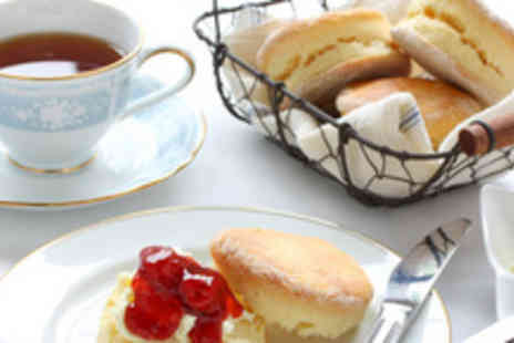 The Stuart Hotel - Afternoon tea for 2, including sandwiches, scones, homemade cakes & tea or coffee - Save 68%