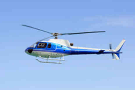 Whizzard Helicopters - Helicopter Tour of Manchester or Liverpool - Save 41%