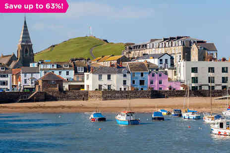Grosvenor Hotel - A Seaside Getaway in Lovely Ilfracombe - Save 63%