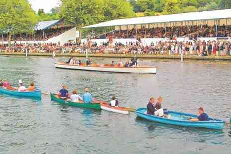 Maidenhead Steam Company - Henley Royal Regatta Package With Champagne, Lunch and Cruises - Save 34%