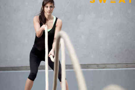 Sweat - Five Fitness Training Sessions - Save 77%
