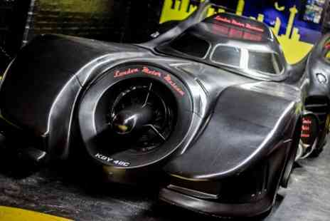 London Motor Museum - Win a Ride in an Original 1989 Batmobile Plus Michelin Starred Dinner For Four - Save 100%