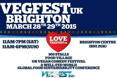 VegFest - Entry to VegfestUK  For Two - Save 0%