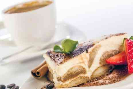 Charlies - Hot Drink and Cake For Two - Save 0%