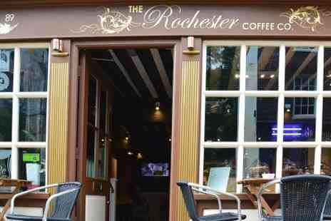 Rochester Coffee Shop - Lunch With Cake and Drink For Two  - Save 0%
