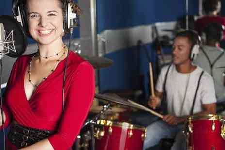 Rock Hard Music Group - Singing Experience Professional Recording Studio Session with CD - Save 72%