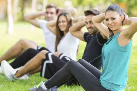Healthiness  - Ten Bootcamp Sessions  - Save 80%