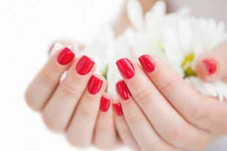 Radiance Hair and Beauty - Shellac Manicure or Pedicure or Both  - Save 0%