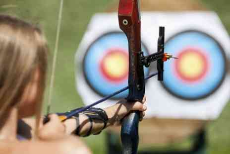 Leisure Matters  - Archery and Rifle Experience Plus Axe Throwing - Save 68%