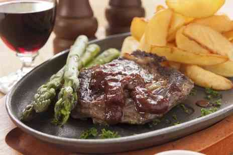 The Fox Inn  - Steak and Wine For Two   - Save 0%