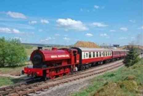 Pontypool & Blaenavon Railway - Tickets to Pontypool and Blaenavon Railway  for a family of 2 adults and up to 3 children - Save 0%