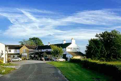 The Whoop Hall Inn -  Two Night Mini Break including Meals  - Save 56%