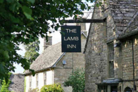 The Lamb Inn - Upmarket Cotswolds Escape with Dinner and Prosecco - Save 38%