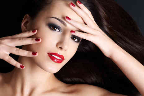 Beauty Box - Stunning Manicure and Pedicure with Shellac Option - Save 58%