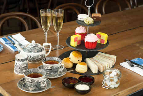 London Elizabeth Hotel - Sparkling afternoon tea for Two including  sandwiches, scones, cakes & Prosecco  - Save 63%