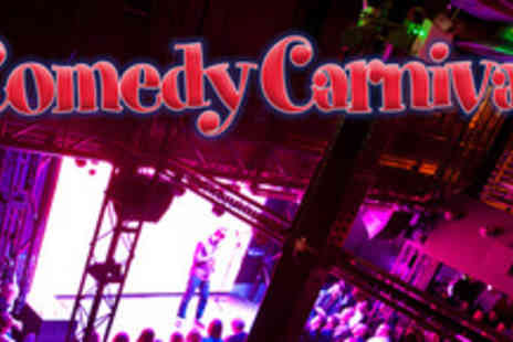 Comedy Carnival - Entrance to a comedy show and a choice of drinks for two - Save 66%