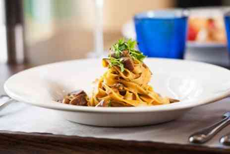 Tuscan Kitchen -  Three Course Meal & Prosecco for 2  - Save 52%